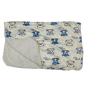 Bear Print Cannon Baby Blanket