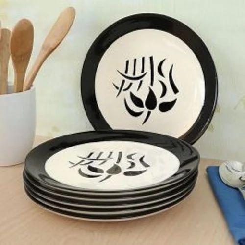 Printed Ceramic Plates