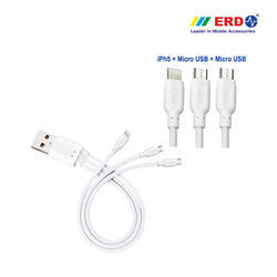 PC 80 Multi USB Cable ( 3 IN 1) Small