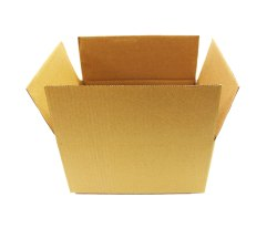 Brown 3 Ply Packaging Corrugated Box