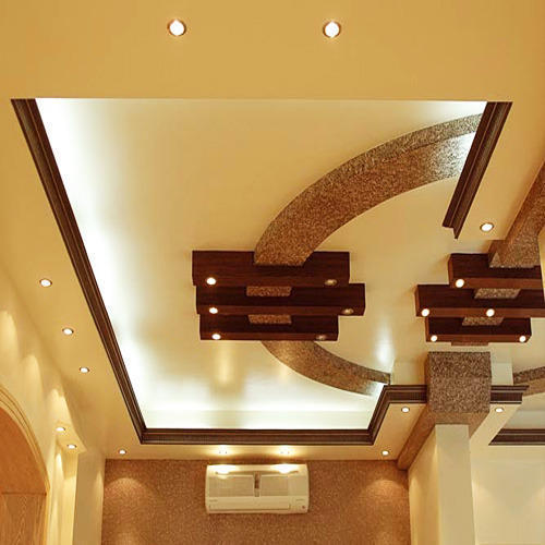 Decorative Gypsum False Ceiling At Rs 52 Square Feet