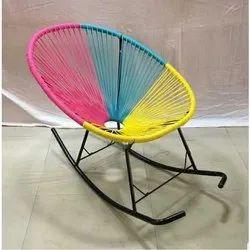 Vinyl Rocking Chair