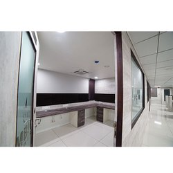 Commercial Glass Partition