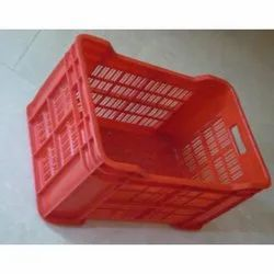 Fruits And Vegetables Plastic Crates