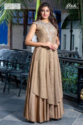 SLEEVELESS ANARKALI KURTI