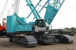 Diesel Crawler Crane Rental Services, Rental Duration: 1-3 Month, Capacity: 80-100 Tons
