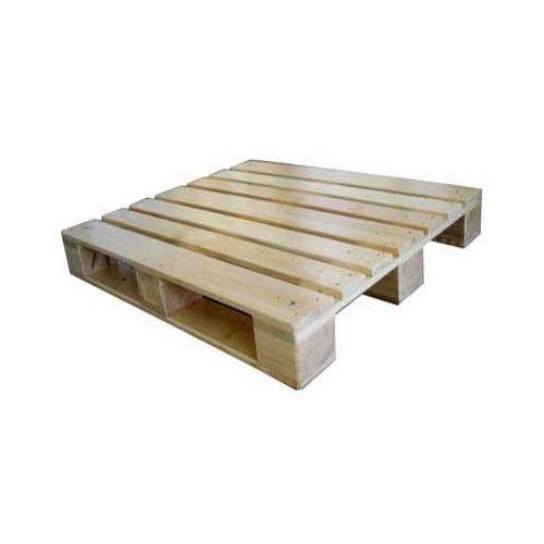 Rectangular Four Way Wooden Pallet