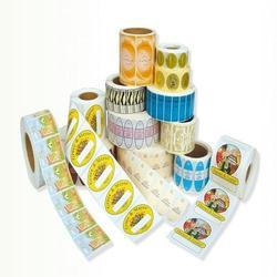 Multicolor Printed Label, Packaging Type: Roll