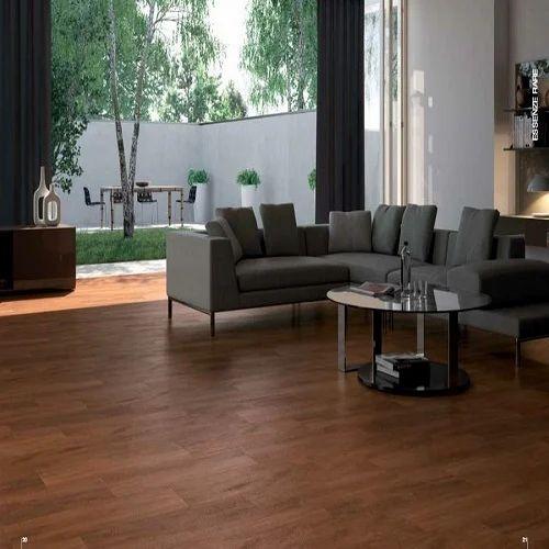 Brown Color Floor Tiles