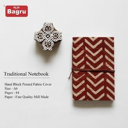 Block Printed Handmade Note Book