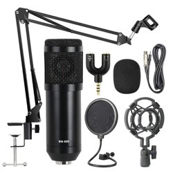 BM 800 Condenser Microphone Kit Set Black