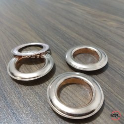 19mm Brass Eyelets & Washers Copper