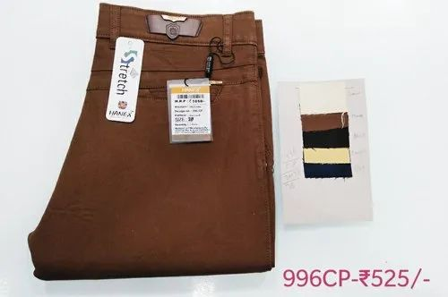 Hanex Cotton Chinos For Men