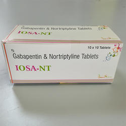 Gabapentin & NortriptylineTabkets