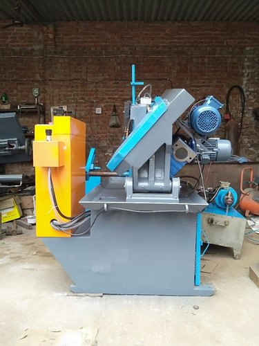Mild Steel Fully Automatic Unique Metal Cutting Band Saw Machine Material Grade Ms Size Dimension Dia 250mm Rs 220000 Piece Id 21681639597