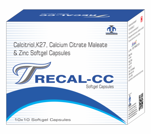 Calcitriol 025mcg K27 50mcg Calcium Citrate Maleate 1000mg At Rs