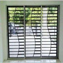 Designer Iron Window