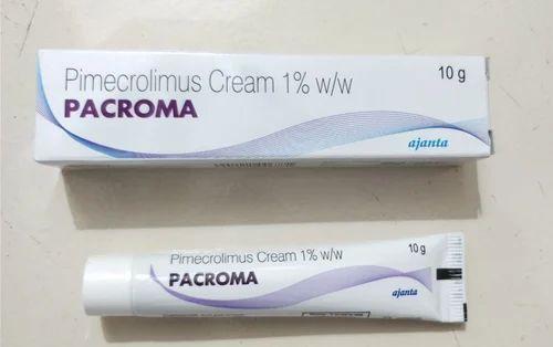 Skin Lightening And Melanin Reducing Cream Pacroma Pimecrolimus Cream 100 Export Oriented Unit From Nagpur
