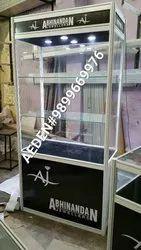 White ALUMINUM FRAME Jewellery Exhibition Stall