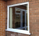 White Standard Amd Upvc Fixed Window
