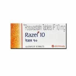 10 Mg Rosuvastatin Tablets IP