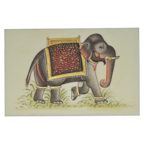 Paper Elephant Painting
