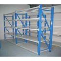 Mild Steel 5 Shelves Lab Storage Rack