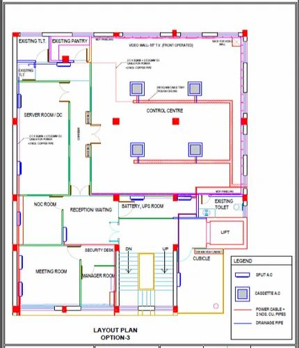 electrical power layouts