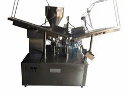 Automatic One Head TubeFilling And Sealing Machine