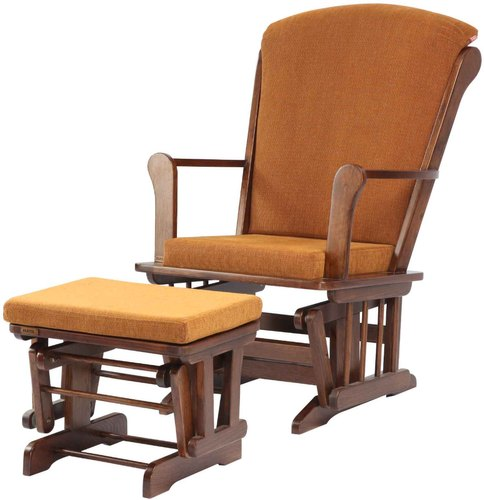 Stupendous Hatil Wooden Rocking Chair With Stool For Home Id 20999212262 Squirreltailoven Fun Painted Chair Ideas Images Squirreltailovenorg