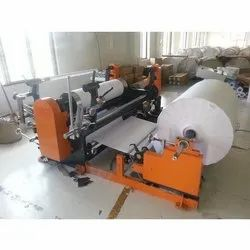 Sublimation Paper Roll Drum Type Slitter Rewinder Machine