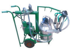 Trolley Single Bucket Milking Machine