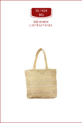 EMBROIDERED, LACE GOLDEN Lace Bag