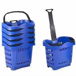Plastic Shopping Trolleys