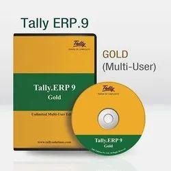 Online Tally ERP.9 Gold Multi User Edition, Window 7/8, Windows 10, Tally.ERP 9
