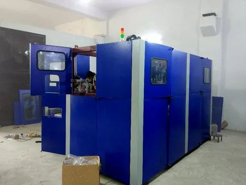 STA-1000-4B Pet Stretch Blow Moulding Machine With Manual Preform Feeding System