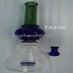 Vodka Glass Bent Neck Beaker Water Pipe