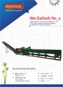 Om Kailash No.5 Double Mill With Cane Carrier