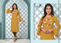 LADIES FANCY RAYON KURTIS