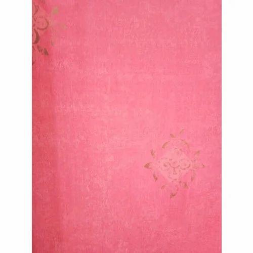 Pvc Pink Designer Wallpaper