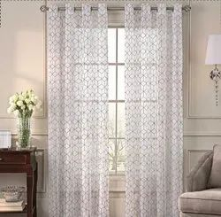 52 X 60 Inch Felecia Beige Sheer Curtain