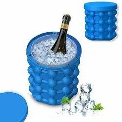 Standard Blue Ice Genie Silicone Ice Maker
