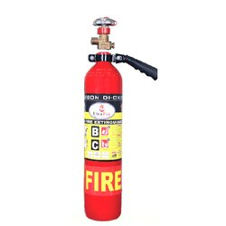 iron CO2 Based Co 2 Gas Base Portable Fire Extinguisher, Capacity: 4.5 kg