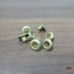 No 700 Brass Embossed Eyelets Golden