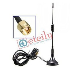 Magnetic Antenna GSM 3dBi with SMA Male 1 M