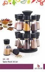 Welldecor 16 Jaar Spice Rack (Multicolor)