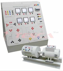 Measurement Of XD and XQ of Three Phase Synchronous Machine Trainer