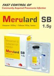 Meropenem 1gm   Sulbactum 500mg