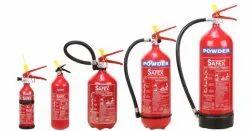 Safex Powder Based Fire Extinguisher (Aluminium)- 01kg
