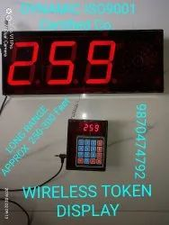 Wireless Token Display Systems